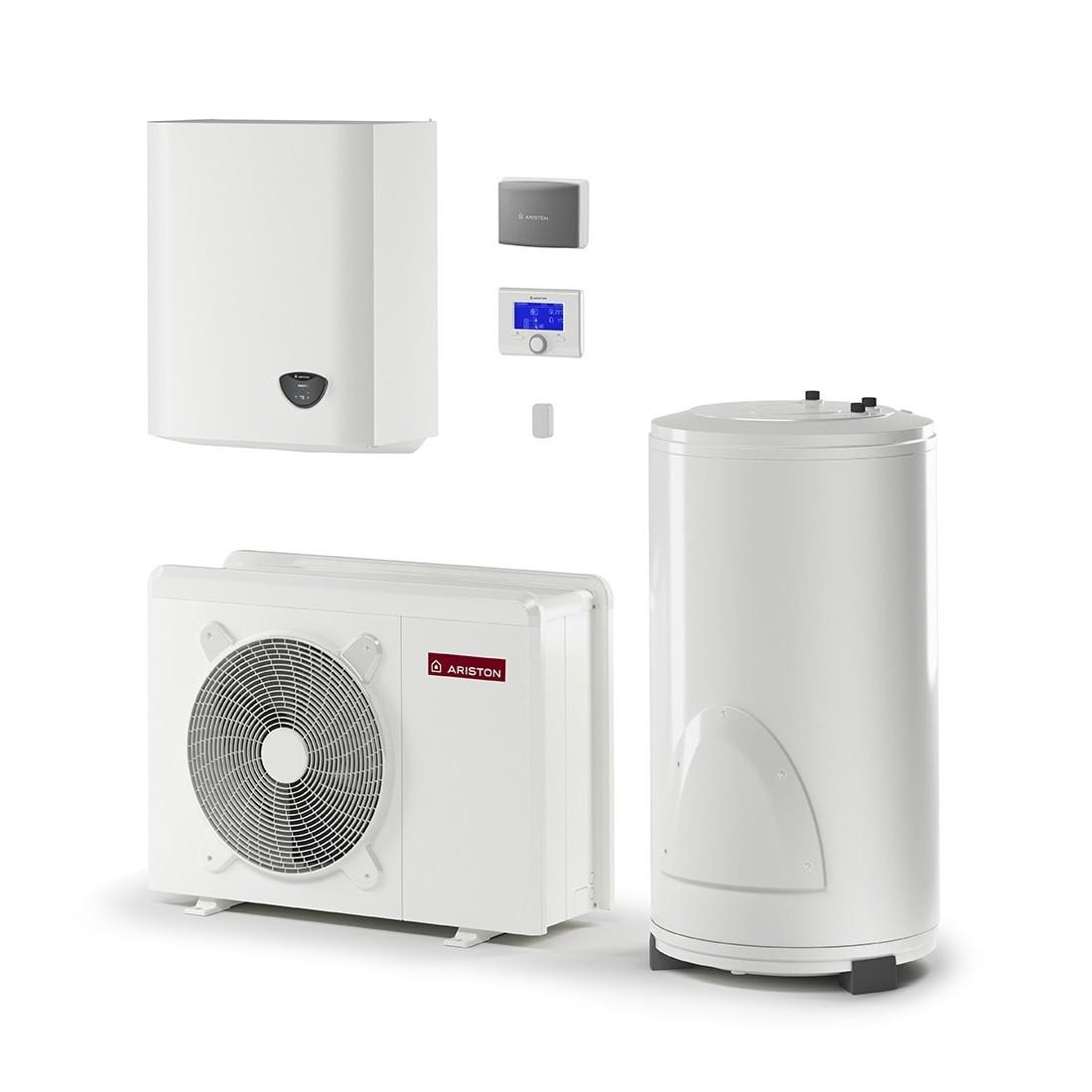 Šilumos siurblys Oras-Vanduo Ariston Nimbus, Flex, 70 S T Net 11 kW Φ3, su 180 (177 l) vandens šildytuvu ir Wi-Fi