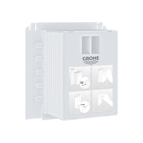 Revizinis kamštis mažam (172x130) WC klavišo montavimui-tvirtiniui