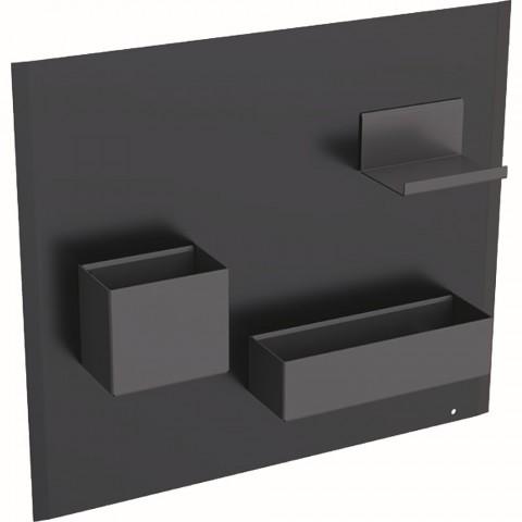 Magnetinė lenta su daiktadėžėmis Geberit, Juoda/Lava