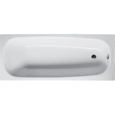 Plieninė vonia BetteForm 170x75, balta