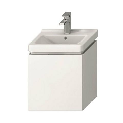 Spintelė Cubito-N 440x480x334 mm, 1 stalčius, praustuvui 8.1142.2, balta