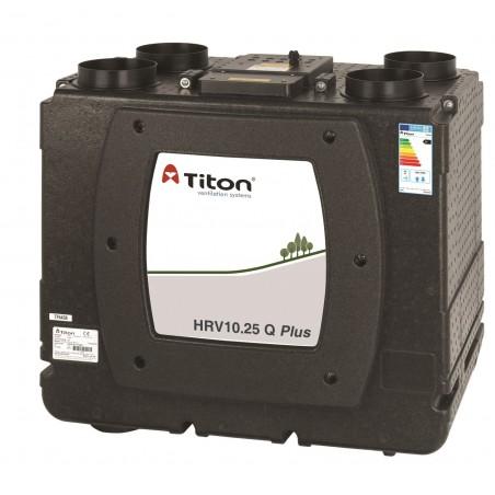 Rekuperatorius TITON HRV10.25 Q Plus BE Eco Aura Enthalpy kairinis 581m3/h@100Pa