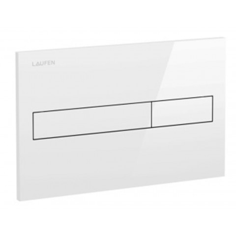 WC klavišas LIS Dual Flush (demo versija), baltas