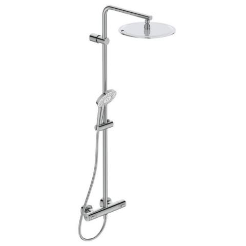 Stacionari dušo sistema Ideal Standard, IdealRain Lux, EvoJet Diamond su termostatiniu maišytuvu