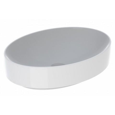 Praustuvas pastatomas VariForm 55 cm, ovalus, baltas