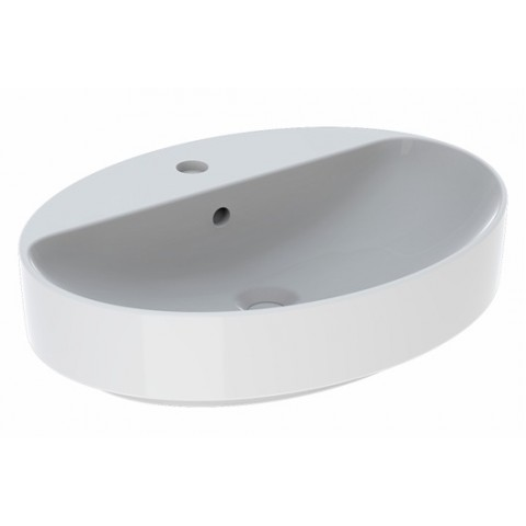 Praustuvas pastatomas VariForm 60 cm, ovalus, baltas