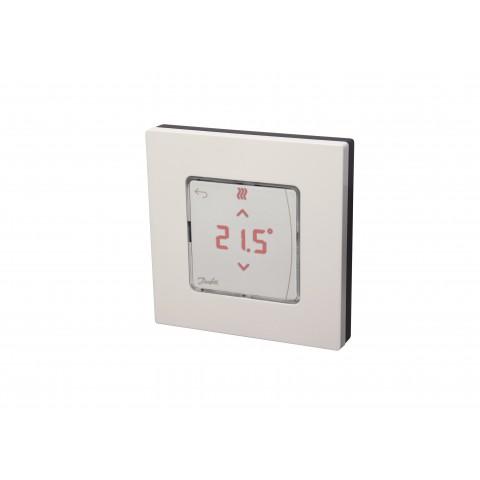 Icon™ su displėjumi, bevielis, virštink. ir su infraraudonųjų spindulių grindų temperatūros davikliu patalpos termost.