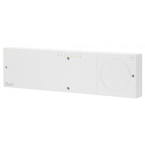 Icon™ 230V grindų šildymo valdiklis, 8/14 zonų su šaldymo ir temperatūros pažeminimo išvykus funkcijomis