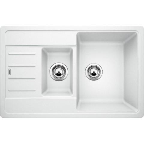 Plautuvė BLANCO LEGRA 6 S Compact, balta spalva