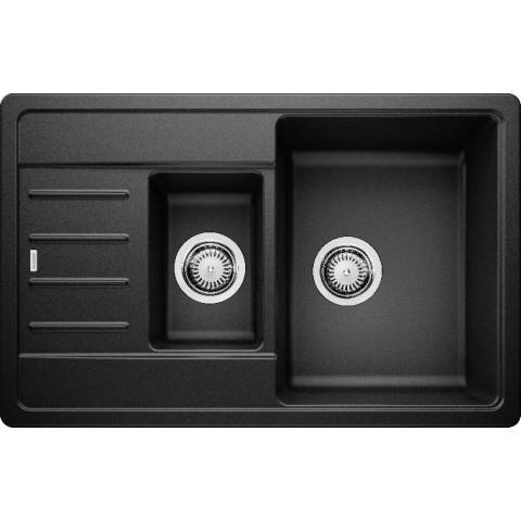 Plautuvė BLANCO LEGRA 6 S Compact, juoda spalva