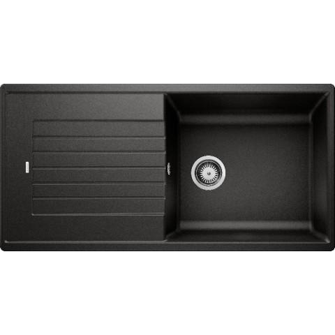 Plautuvė BLANCOZIA XL 6S, 1000x500 mm, juodos spalvos