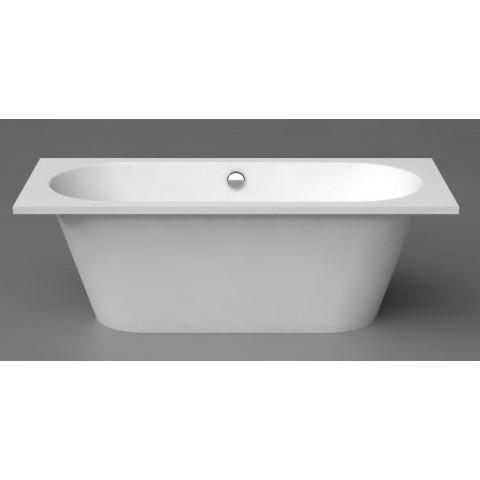 Akmens masės vonia Vispool Evento 1750x750 mm, stačiais kampais, balta