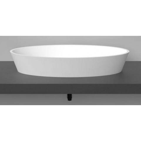 Akmens masės praustuvas Vispool D2, 785x395x140mm, baltas