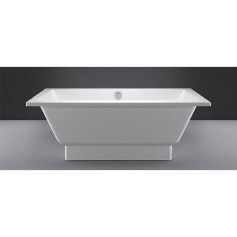Akmens masės vonia Vispool Nordica, 170x750 cm, balta