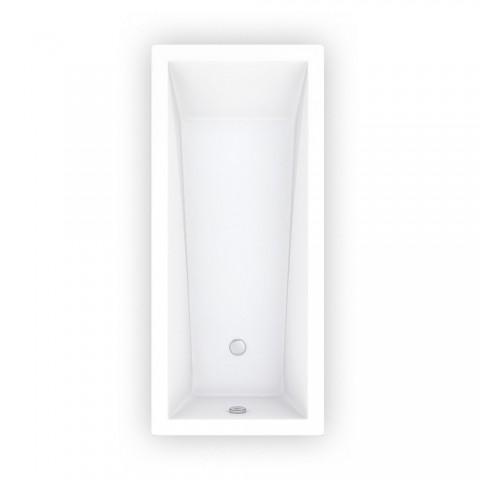 Aklilinė vonia Kubic Neo Slim 1700x750 mm, balta