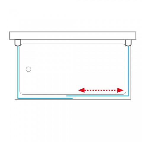 Šoninė siena durims PXV2L / PXV2P 800/1500