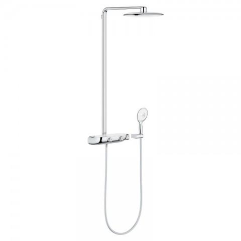 Termostatinė dušo sistema SmartControl 360 MONO, balta spalva