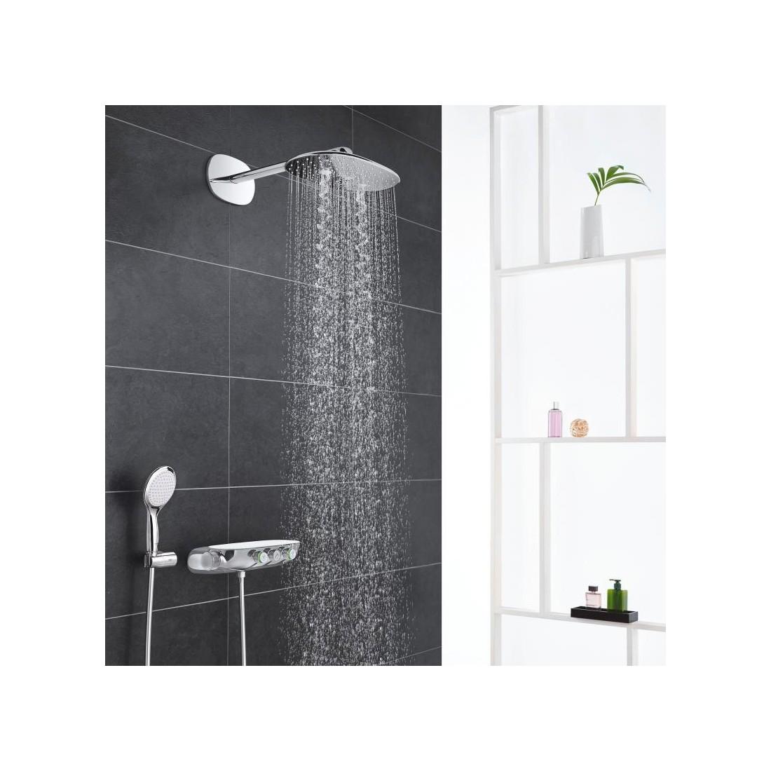 Potinkinė termostatinė dušo sistema Rainshower System SmartControl 360 DUO, chromas