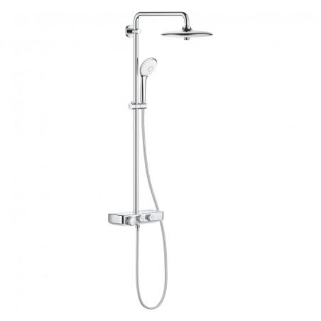 Termostatinė dušo sistema Euphoria SmartControl 260 Mono, chromas