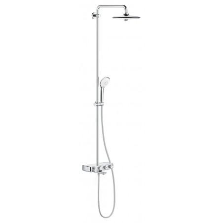 Termostatinė vonios/dušo sistema Euphoria SmartControl 260 Mono, chromas