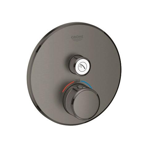 Virštinkinė dušo maišytuvo dalis Grohtherm Smartcontrol, grafito spalva