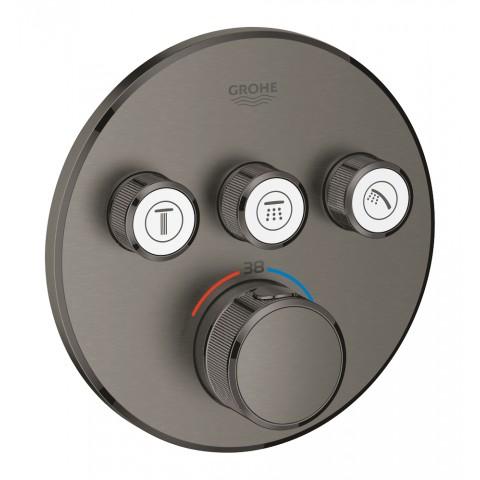 Virštinkinė maišytuvo SmartControl dalis, 3-jų taškų, grafito spalva