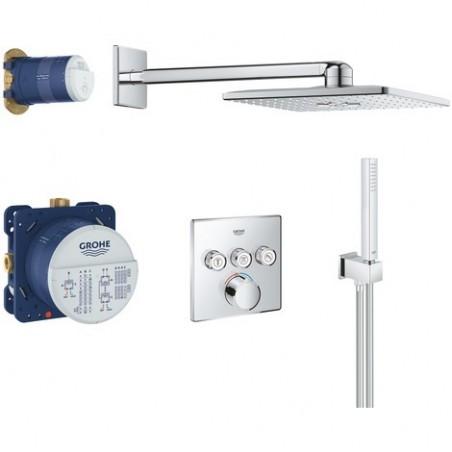 Potinkinė termostatinė dušo sistema SmartControl Perfect