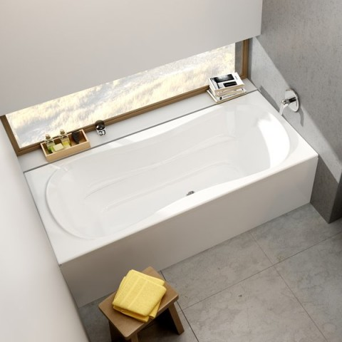 Stačiakampė vonia Ravak Campanula II, 180x80