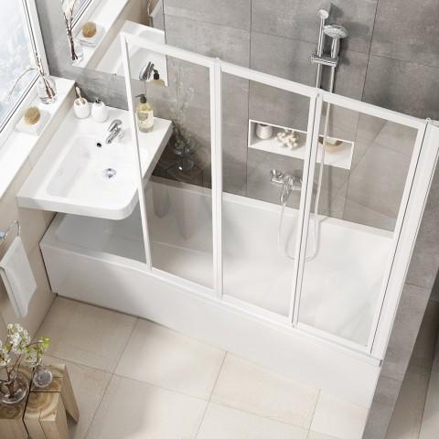 Akrilinė vonia Ravak BeHappy II, 150x75, dešininė