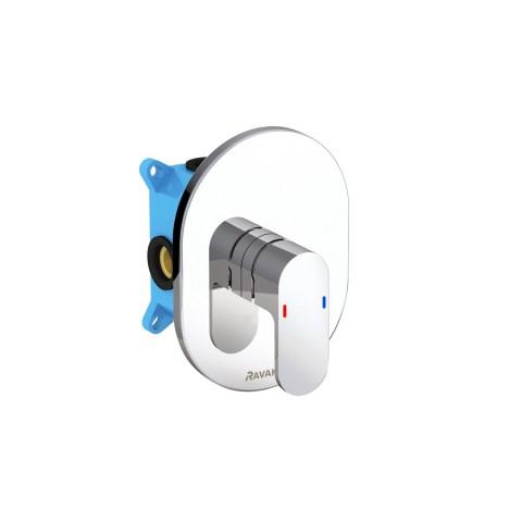 Potinkinis maišytuvas Ravak Chrome, CR 066.00 be jungiklio, skirtas R-Box