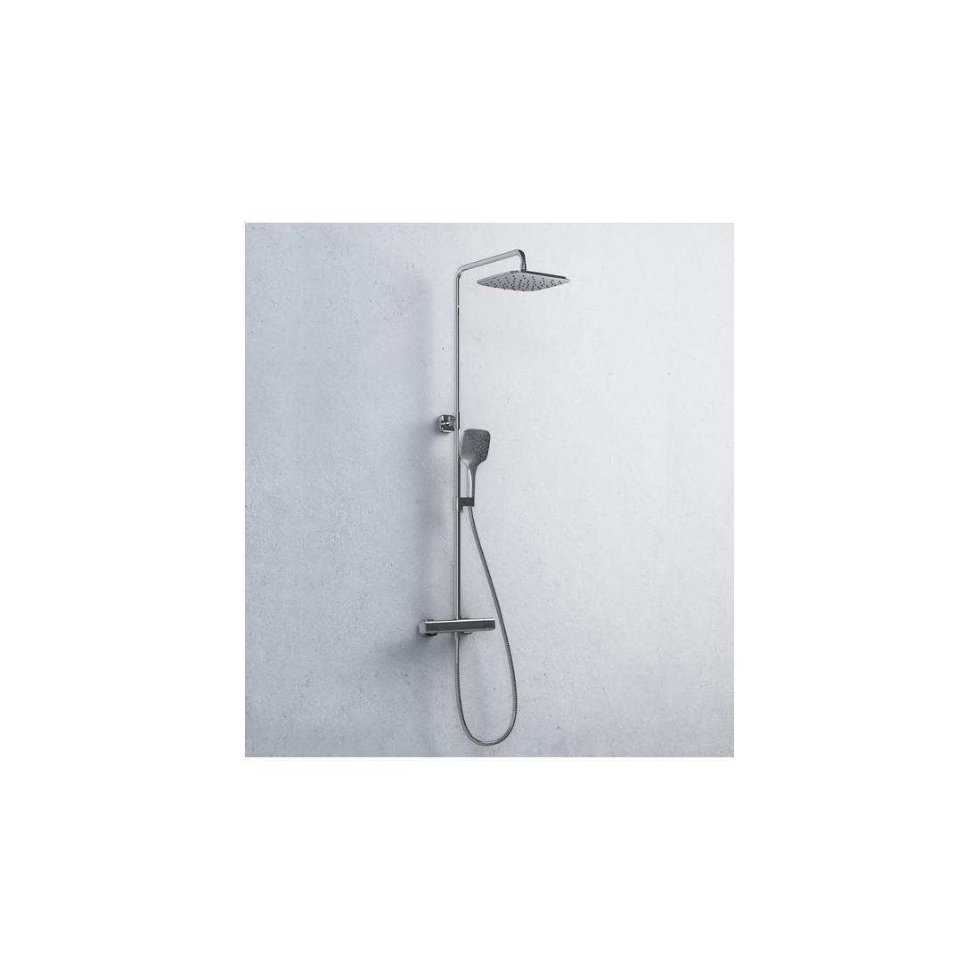 Stacionari dušo sistema Ravak 10°, TD 091.00/150 su termostatiniu maišytuvu ir dušo komplektu