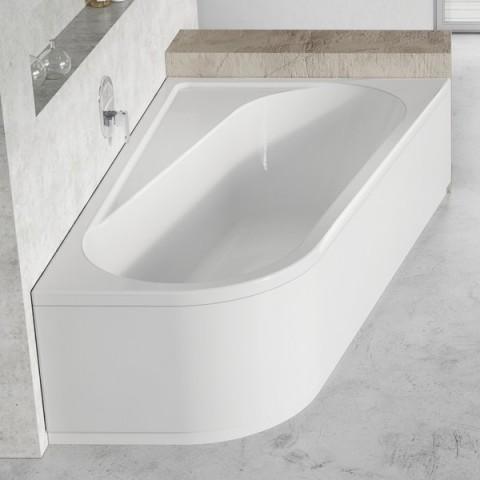 Asimetrinė vonia Ravak Chrome, 160x105, dešininė