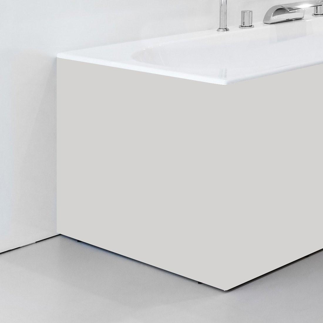 Apdailos plokštė voniai Ravak City/City Slim, šoninė, 80 L balta