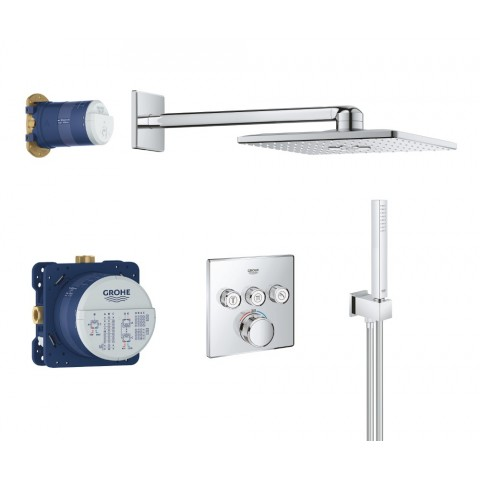 Potinkinis dušo komplektas Grohe, Grohtherm SmartControl Perfect SmartActive Cube 310
