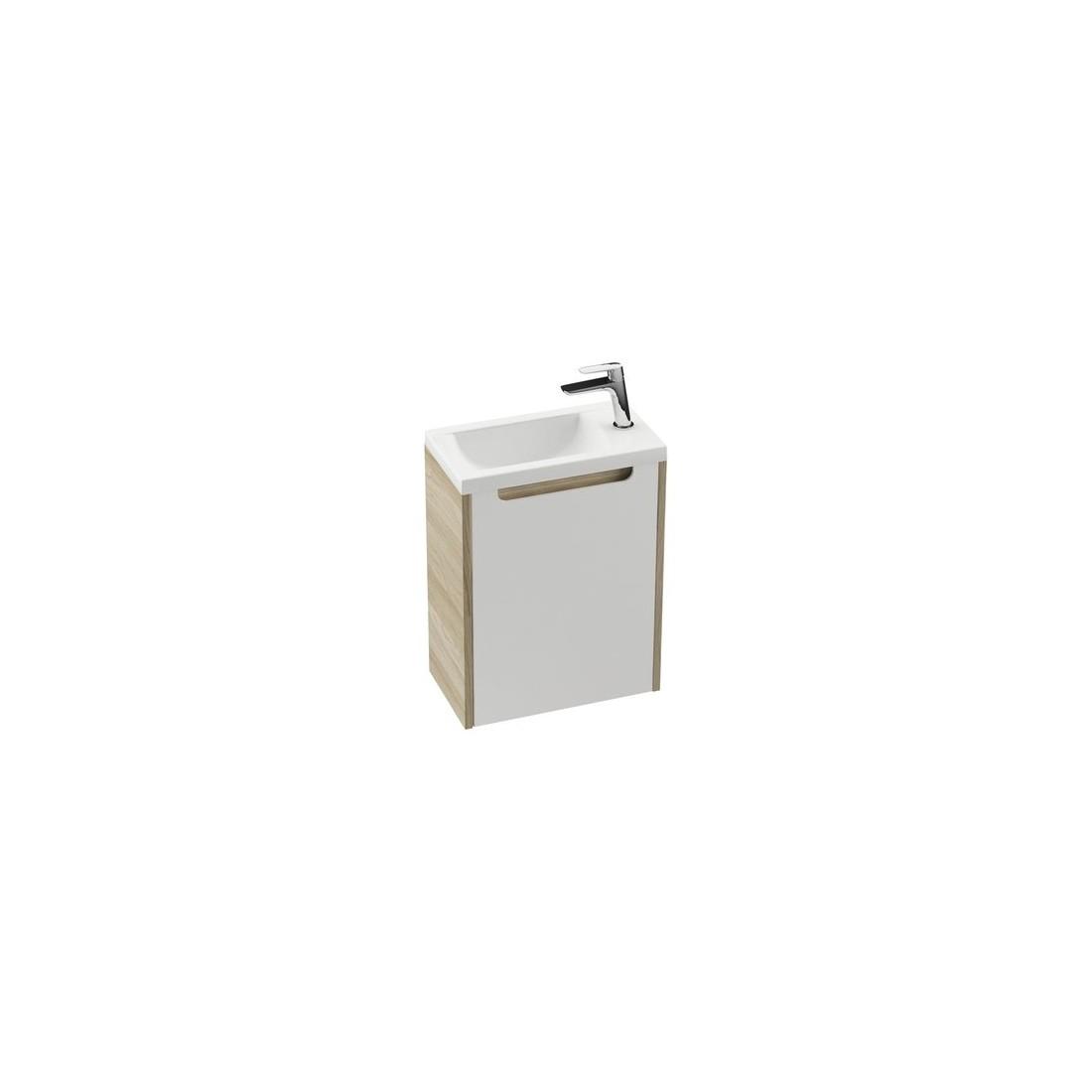 Durelės spintelei po praustuvu Ravak SD 400 Classic, R balta