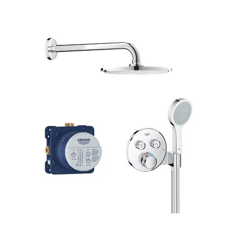 Potinkinis dušo komplektas Grohtherm Smartcontrol, 2 valdikliai , chromas