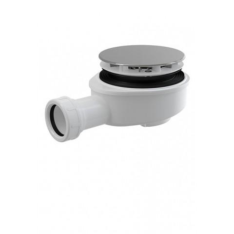 Pažemintas dušo sifonas 90, (ALC-A491CR) chromas/plastikas