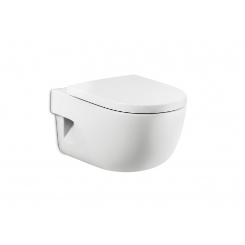 Pakabinamas unitazas MERIDIAN Compact (480x360x400 mm), baltas