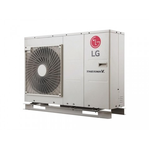 Šilumos siurblys Oras-Vanduo LG Therma V, Monobloc, 5.5 kW Ø1 + kondicionierius LG tik už 1 ct!