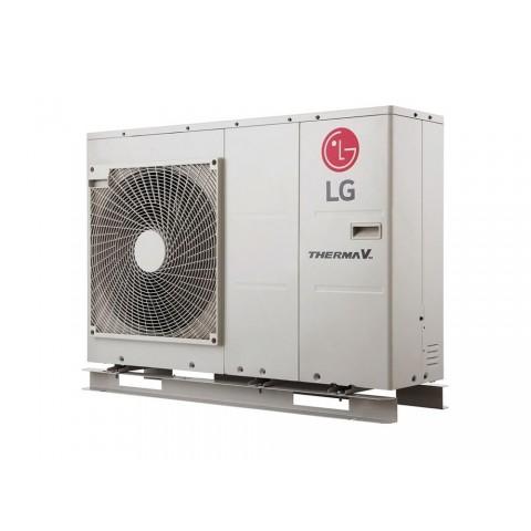 Šilumos siurblys Oras-Vanduo LG Therma V, Monobloc, 9 kW Ø1 + kondicionierius LG tik už 1 ct!