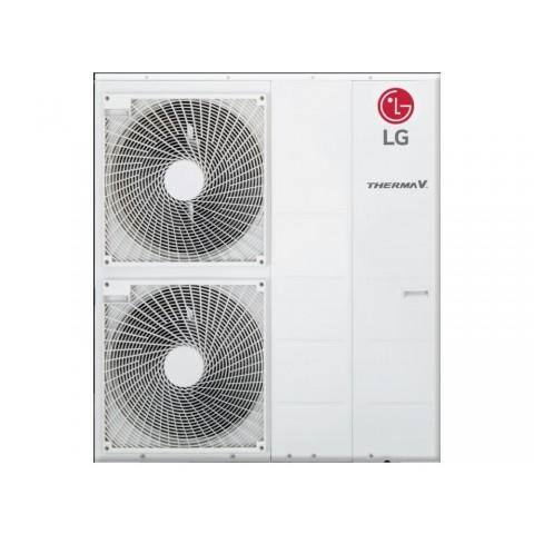 Šilumos siurblys Oras-Vanduo LG Therma V, Monobloc, 12 kW Ø3 + kondicionierius LG tik už 1 ct!