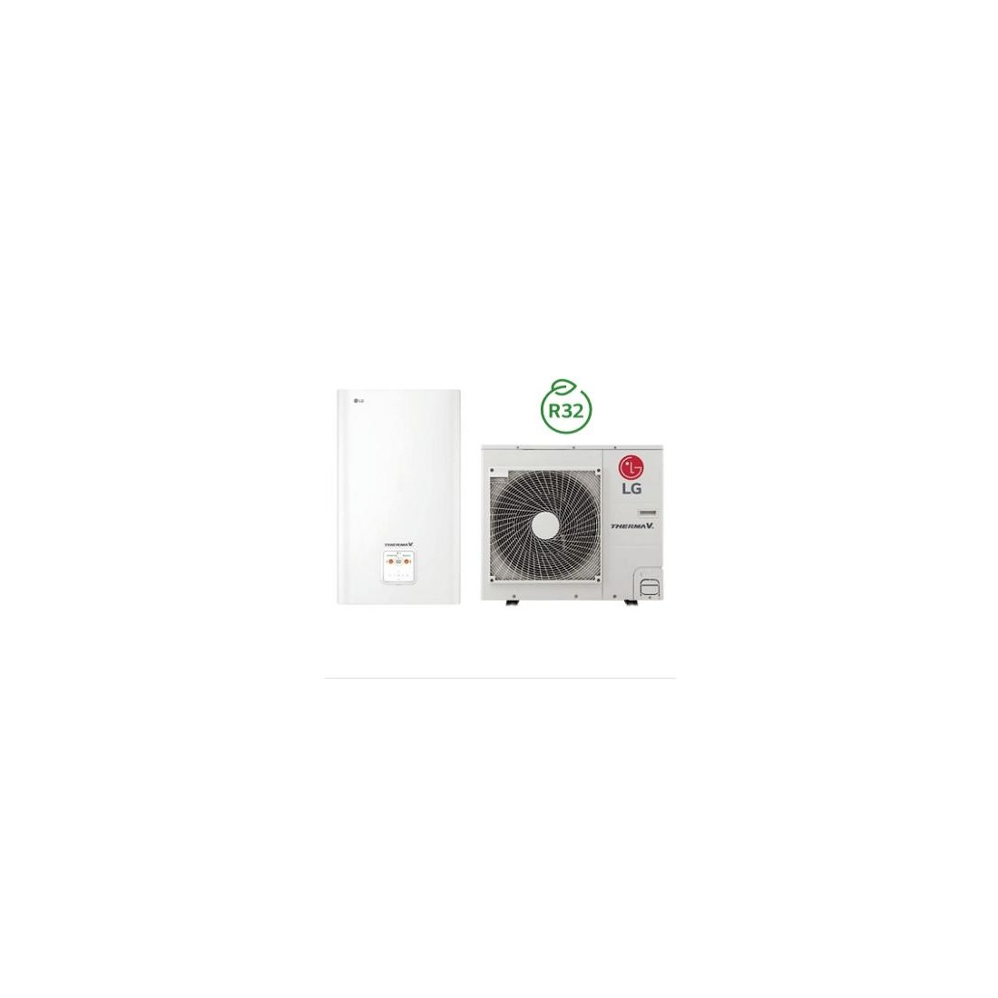 Šilumos siurblys Oras-Vanduo LG Therma V, Split, 7 kW Ø1 + kondicionierius LG tik už 1 ct!