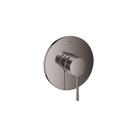 Virštinkinė dušo maišytuvo dalis Grohe Essence, hard graphite