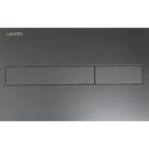 WC klavišas LIS Dual Flush, juodas matinis