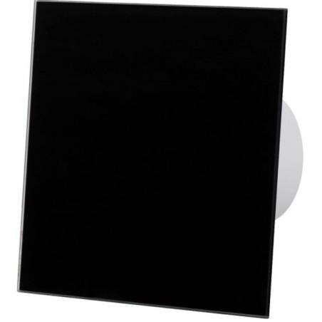 Ventiliatorius lubinis, sieninis su drėgmačiu ir laikmačiu, komplekte su juodu Dangteliu