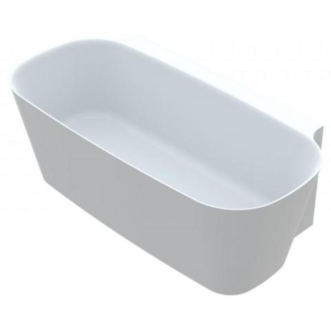 Akmens masės vonia Vayer Nova 2 164x83 cm, stačiakampė, balta
