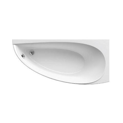 Akrilinė asimetriška vonia Ravak Avocado, 160x75 cm, dešininė