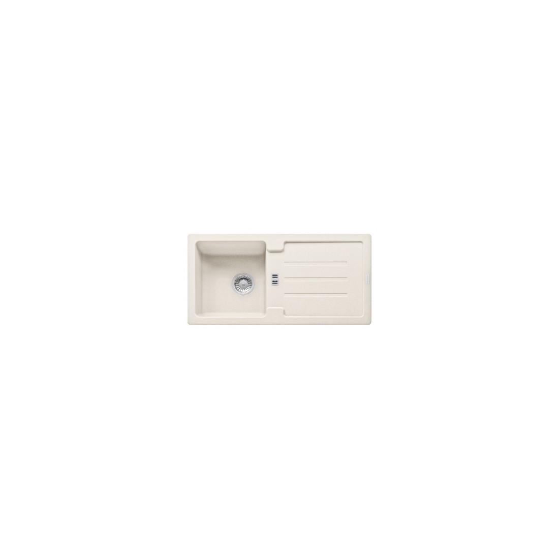 Akmens masės plautuvė Franke Strata, STG 614-86, Magnolia, ekscentrinis ventilis