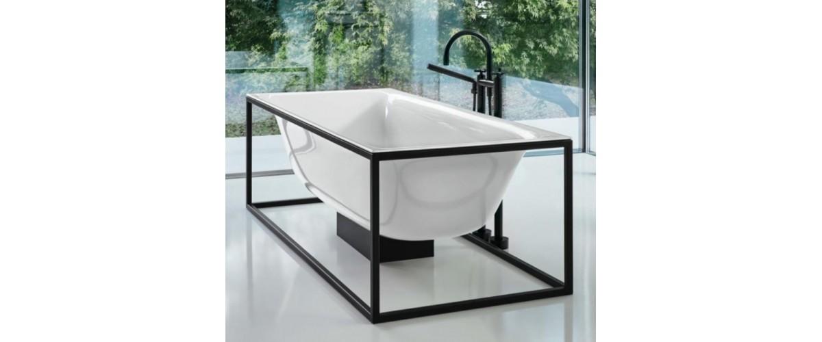 plieninės vonios arba metalinės vonios